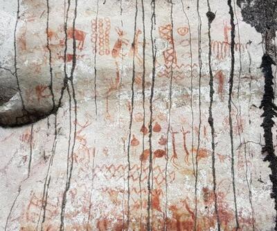 Amazonlar'da bulundu: Buzul Çağı'nı tasvir ediyor