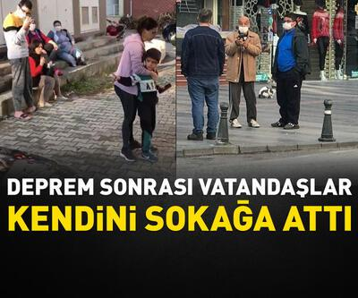 Vatandaşlar kendini sokağa attı