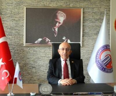 ÇOMÜRektörü Murat'a, 'Yılın Akademisyeni' ödülü