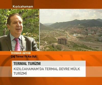 Kızılcahamam'da termal turizm