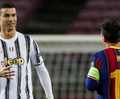 Ronaldo Messi'yi üzdü