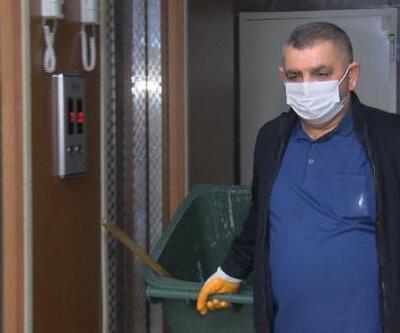 Pandemide apartman görevlileri de risk altında
