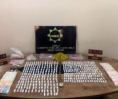 Çorlu'da uyuşturucu operasyonu: 1 gözaltı
