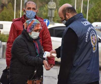 İzmir'de koronavirüs tedbirler artırıldı