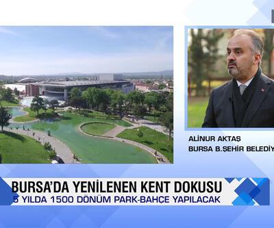Bursa'da yeşil dönüşüm, ekonomik atılım, tarım faaliyetleri ve ikinci el otomobil ticareti