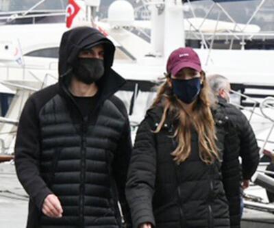 Birkan Sokullu ve Eda Gürkaynak yürüyüş yaparken görüntülendi