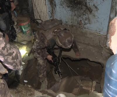 İstanbul'da uyuşturucu operasyonunda 30 metre derinliğinde tünel bulundu