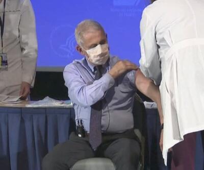 Fauci de koronavirüs aşısı oldu | Video