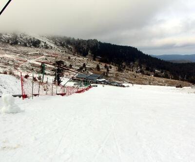 Kartalkaya'da kayak için gelenler geri döndü