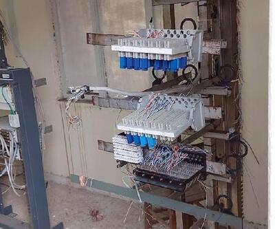 Kabloları çalınınca internetsiz kalan mahalledeki öğrenciler mağdur oldu
