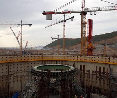 Akkuyu NGS inşaat sahasında iki kilit aşama daha tamamlandı
