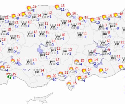30 Aralık 2020 Çarşamba hava durumu: Bugün hava nasıl? İstanbul, Ankara, İzmir hava durumu