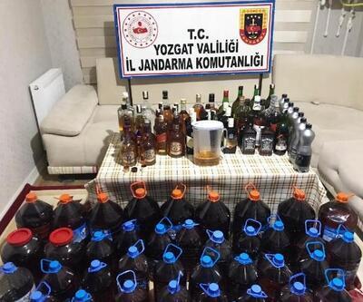 Sorgun'da sahte içki operasyonu: 4 gözaltı