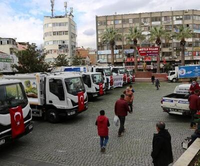 Edremit Belediyesi'ne 9 yeni çöp kamyonu alındı