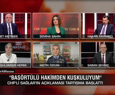 """Siyasette """"başörtüsü"""" tartışması ve """"2020 felaket listesi"""" manşeti CNN TÜRK Masası'nda konuşuldu"""