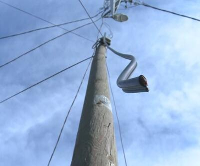 Kablo hırsızları eğitime engel | Video