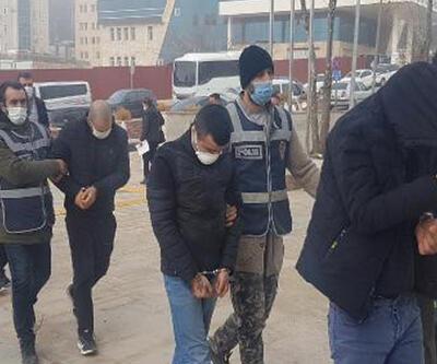 Elazığ'da, 69 suç kaydı olan 4 hırsızlık şüphelisine tutuklama