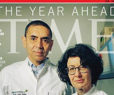 Bilim insanları Prof. Dr. Uğur Şahin ve Özlem Türeci TIME kapağında