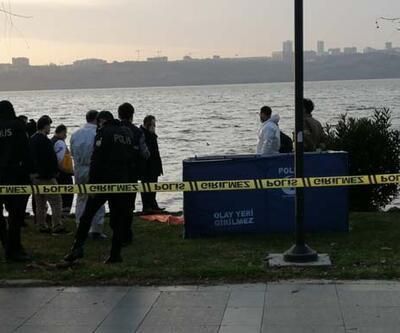 İstanbul'da korkunç manzara! Göl kenarında oturanlar fark etti
