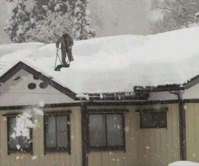 Japonya'da kar felaketi: 38 ölü   Video