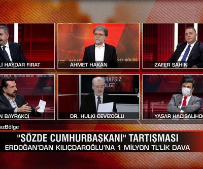 """""""Sözde Cumhurbaşkanı"""" tartışması ve Kaftancıoğlu'na militan suçlaması Tarafsız Bölge'de konuşuldu"""