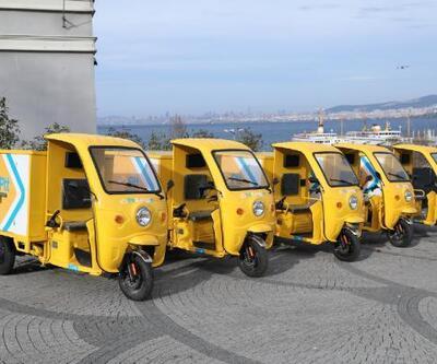 PTT'nin elektrikli araçları Adalar'da hizmete başladı