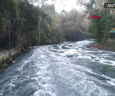 Antalya'daki şelalenin kaynağı kötü koku yayıyor | Video