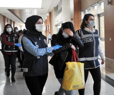 1 milyon liralık ziynet eşyası çalan 'Altın Kızlar' tutuklandı