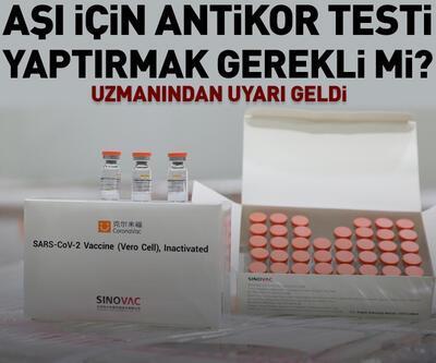 Aşı olmak için antikor testi yaptırmak gerekli mi?