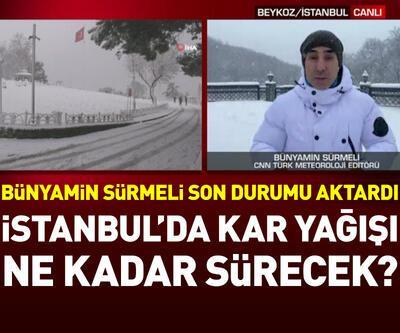İstanbul'da kar yağışı ne kadar sürecek? | Video