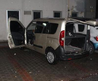 Kayseri'de, polisin 'dur' ihtarına uymayan araçtaki 4 kişiden 2'si yakalandı