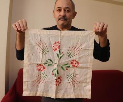 Atatürk'ün hediye ettiği mendili satışa çıkarttı | Video