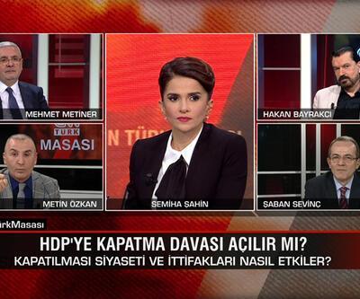 HDP'ye kapatma davası açılır mı? Biden ile S-400 uzlaşısı olur mu? CNN TÜRK Masası'nda tartışıldı