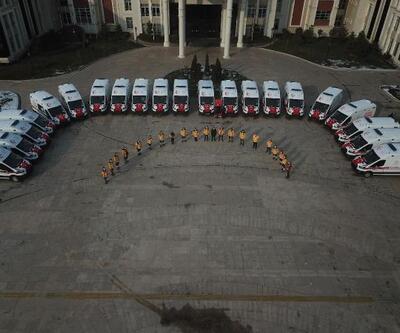 Kocaeli'de 30 yeni ambulans hizmete alındı