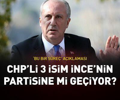 CHP'li 3 isim İnce'nin partisine mi geçiyor?