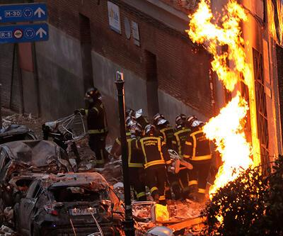 Madrid'de şiddetli patlama: 3 ölü | Video