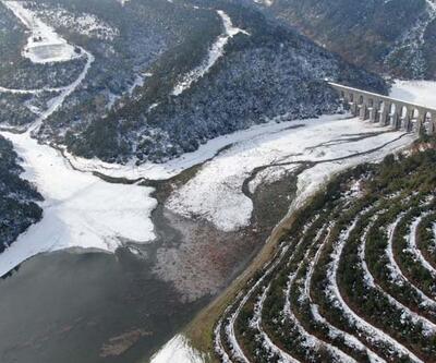 İstanbul'da karlar eriyor, barajlardaki doluluk yüzde 31.04'e çıktı