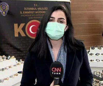 İstanbul'da 20 bin sahte saat ele geçirildi