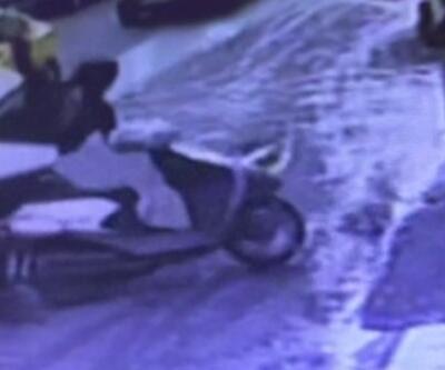 İşaret vermeden dönünce motosiklete çarptı