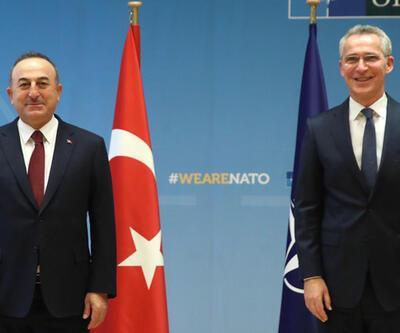 Bakan Çavuşoğlu, Stoltenberg'le görüştü