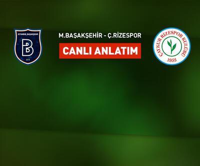 Başakşehir - Rizespor CANLI YAYIN