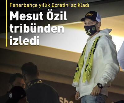 Mesut Özil tribünden izledi