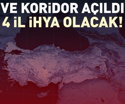 Türkiye'nin 4 ili ihya olacak