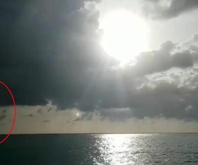 Şaşırtan görüntü: Bir tarafta hortum bir tarafta güneş