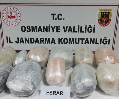 Osmaniye'de jandarma 2020'de kaçakçılık ve organize suçlardan 586 kişiyi yakaladı