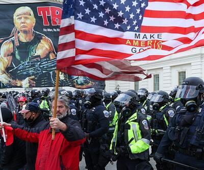 Kongre baskının sembol ismi Trump'ı yakacak
