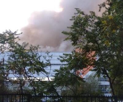 Şili'de hastanede yangın