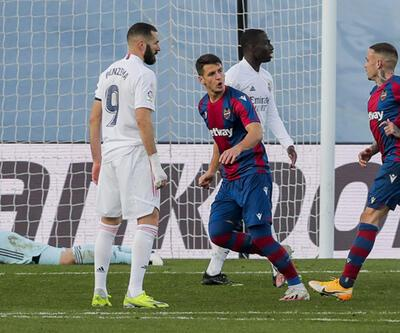 Real Madrid - Levante: 1-2