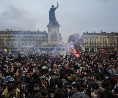 Fransa'da güvenlik yasa tasarısına karşı protestolar sürüyor