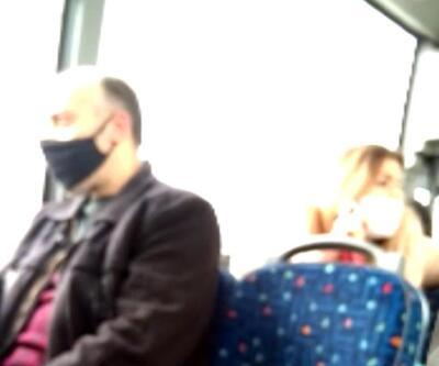 Polisle tartışmış, kuaförde olay çıkarmıştı: Şimdi de otobüste kavga etti